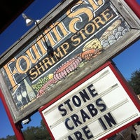 Photo taken at Fourth Street Shrimp Store by lindsey h. on 10/20/2012