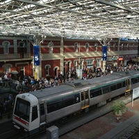 Photo taken at Perth Station by Phil N. on 2/12/2013