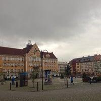 Photo taken at Náměstí ČSA by Albert C. on 9/24/2013