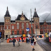 Photo taken at Amsterdam Central Railway Station by Albert C. on 6/12/2013