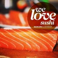 Photo taken at Nokori Sushi Bar by Nokori S. on 4/19/2014