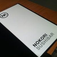 Photo taken at Nokori Sushi Bar by Nokori S. on 10/6/2013