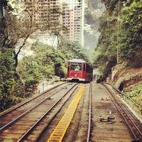 Photo taken at Peak Tram Upper Terminus by Simon F. on 11/5/2012