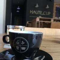 Photo taken at Haute Cup by Mircea S. on 4/2/2015