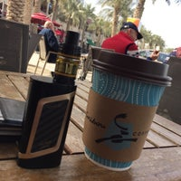 Photo taken at Caribou Coffee by Mostafa S. on 2/10/2017