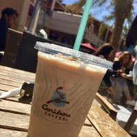 Photo taken at Caribou Coffee by Mostafa S. on 2/27/2017