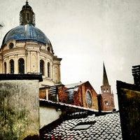 Photo taken at Osteria delle Quattro Tette by Simon L. on 2/21/2013