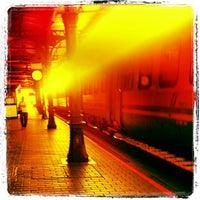 Photo taken at Stazione di Mantova by Simon L. on 9/20/2012