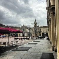 Photo taken at Piazza San Carlo by Simon L. on 7/18/2013