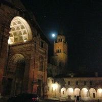 Photo taken at Piazza Leon Battista Alberti by Simon L. on 6/20/2013