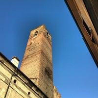 Photo taken at Osteria delle Quattro Tette by Simon L. on 5/12/2013