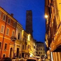 Photo taken at Osteria delle Quattro Tette by Simon L. on 7/28/2013