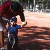 Photo taken at Tennis Club Djerba La Douce by Ibtissem H. on 10/19/2013