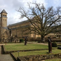 Photo taken at Abbaye Notre-Dame d'Orval by Sven P. on 3/9/2013