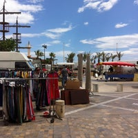 Photo taken at Marché du Barcares by Fred L. on 7/11/2014