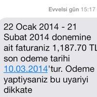 Photo taken at Vodafone Atmaca by Gökhan K. on 2/28/2014