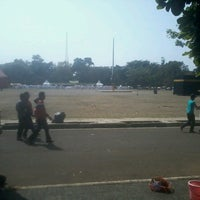 Photo taken at Lapangan Tegalega by Irwan F. on 9/7/2013