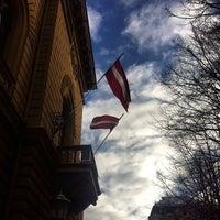 Photo taken at Latvijas Republikas Saeima  |  Saeima of the Republic of Latvia by Ieva S. on 3/18/2014