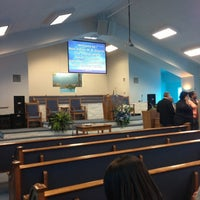 Photo taken at New Haven Missionary Baptist Church by Jonathan J. on 11/11/2012