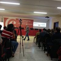 Photo taken at Escuela de Negocios Cámara Sevilla by Ricardo P. on 2/14/2013