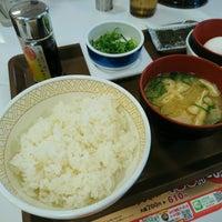 Photo taken at Sukiya by Bon J. on 1/4/2017