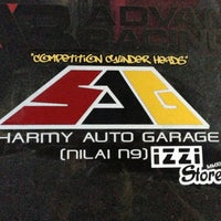 Photo taken at sharmy Auto Garage by Wan W. on 9/6/2013