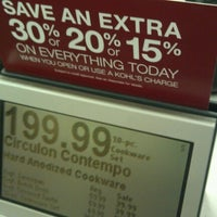 Photo taken at Kohl's by π on 11/11/2012