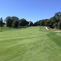 Photo taken at Happy Hollow Country Club by Mike E. on 9/20/2013