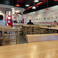 Photo taken at Five Guys by Bob T. on 3/19/2013