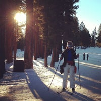 Photo taken at Tahoe Cross Country Ski Area by Norbert H. on 1/21/2013