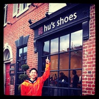 Photo taken at Hu's Shoes by Norbert H. on 11/24/2012
