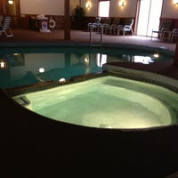 Photo taken at Woodward's Resort - Indoor Pool and Hot Tub by Dana L. on 2/2/2013