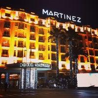 Photo taken at Grand Hyatt Cannes Hôtel Martinez by Michael K. on 1/27/2013
