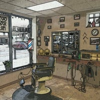 Photo taken at Andrews' Barber Salon by C.J. A. on 5/5/2014
