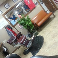 Photo taken at Andrews' Barber Salon by C.J. A. on 7/20/2014