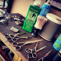 Photo taken at Andrews' Barber Salon by C.J. A. on 7/26/2014