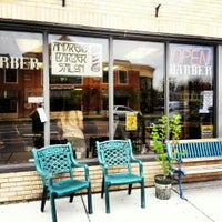 Photo taken at Andrews' Barber Salon by C.J. A. on 5/15/2014