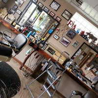 Photo taken at Andrews' Barber Salon by C.J. A. on 11/9/2014