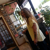 Photo taken at Andrews' Barber Salon by C.J. A. on 7/10/2014