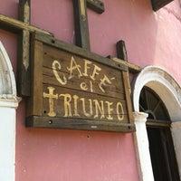 Photo taken at Caffe El Triunfo by Daniel A. on 9/16/2013