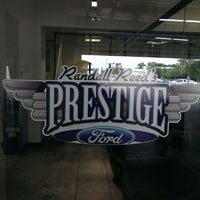 Photo taken at Prestige Ford Service by Nick on 10/11/2013