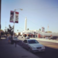 Photo taken at Tower District by Jose G. on 11/3/2012
