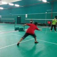 Photo taken at Penang Badminton Academy by Saifullah S. on 11/20/2015