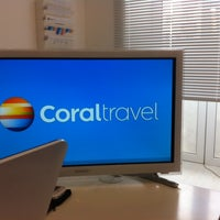 Photo taken at Coral Travel by Сергей К. on 6/4/2014