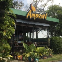 Photo taken at Café Amazon by Anyarin day on 2/12/2016