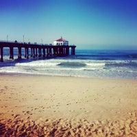 Photo taken at Manhattan Beach Pier by Brianna L. on 2/17/2013
