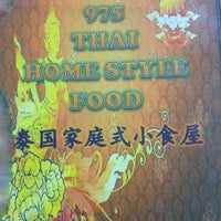Photo taken at 975 Thai Homestyle Food by Andy j. on 4/24/2014