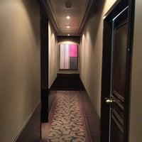 Photo taken at Tiffany Hôtel by simon l. on 2/29/2016