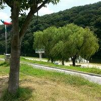 Photo taken at 칠갑산자연휴양림 by Kim J. on 8/28/2015