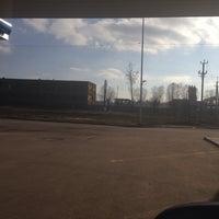 Photo taken at Газпромнефть АЗС № 53 by BigFee on 3/5/2014
